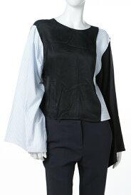 エムエム6 MM6 MAISON MARGIELA ロングTシャツ ロンT 長袖 丸首 レディース S32NC0506S48735 マルチ 送料無料 楽ギフ_包装 10%OFFクーポンプレゼント