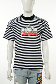 【スーパーSALE 全品10%OFFクーポン配布中】ジーシーディーエス GCDS Tシャツ 半袖 丸首 メンズ SS18M020068 ブラック×ホワイト 送料無料 楽ギフ_包装 10%OFFクーポンプレゼント 目玉商品