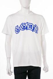 ゴールデングース デラックス GOLDEN GOOSE DELUXE BRAND Tシャツ 半袖 丸首 メンズ G30MP524 ホワイト 送料無料 楽ギフ_包装 10%OFFクーポンプレゼント 【ラッキーシール対応】