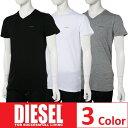 ディーゼル DIESEL Tシャツアンダーウェア Tシャツ 半袖 Vネック メンズ 00SPDM 0AALW 楽ギフ_包装 3000円OFF クーポンプレゼント