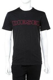 ディーゼル DIESEL Tシャツアンダーウェア Tシャツ 半袖 丸首 クルーネック 900 メンズ 00CG46 0DARX ブラック 楽ギフ_包装 10%OFFクーポンプレゼント ラッキーシール対応