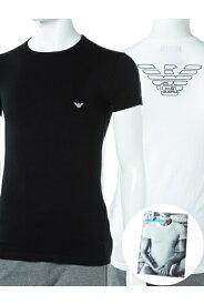 アルマーニ エンポリオアルマーニ Emporio Armani Tシャツアンダーウェア Tシャツ 半袖 丸首 メンズ 111035 CC735 ブラック 楽ギフ_包装 10%OFFクーポンプレゼント 【ラッキーシール対応】