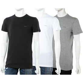 ディーゼル DIESEL Tシャツアンダーウェア Tシャツ 半袖 丸首 メンズ 00SPDG 0AALW 楽ギフ_包装 10%OFFクーポンプレゼント 【ラッキーシール対応】