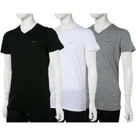 ディーゼル DIESEL Tシャツアンダーウェア Tシャツ 半袖 Vネック メンズ 00SPDM 0AALW 楽ギフ_包装 10%OFFクーポンプレゼント