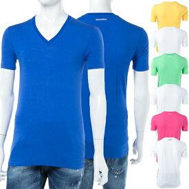 ディースクエアード DSQUARED2 Tシャツアンダーウェア Tシャツ 半袖 Vネック メンズ D9M450590 楽ギフ_包装 10%OFFクーポンプレゼント 【ラッキーシール対応】
