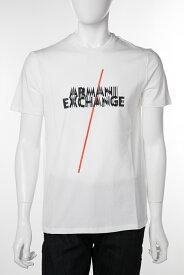アルマーニ エクスチェンジ ARMANI EXCHANGE Tシャツ 半袖 丸首 クルーネック メンズ 3GZTFE ZJU9Z ホワイト 送料無料 楽ギフ_包装 10%OFFクーポンプレゼント 【ラッキーシール対応】