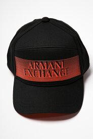 アルマーニ エクスチェンジ ARMANI EXCHANGE キャップ ベースボールキャップ 帽子 954035 9P143 ブラック 送料無料 楽ギフ_包装 10%OFFクーポンプレゼント 【ラッキーシール対応】