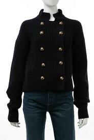 クロエ Chloe セーター ニットジャケット レディース CH16SMM106S700 ネイビー 送料無料 楽ギフ_包装 10%OFFクーポンプレゼント 【ラッキーシール対応】