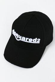 ディースクエアード DSQUARED2 キャップ ベースボールキャップ 帽子 ダメージ加工 BCM036105C00001 ブラック 送料無料 楽ギフ_包装 2020年秋冬新作 10%OFFクーポンプレゼント