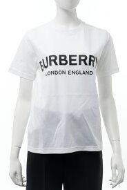バーバリー BURBERRY Tシャツ 半袖 丸首 クルーネック レディース 8008894 ホワイト 送料無料 楽ギフ_包装 2020年秋冬新作 10%OFFクーポンプレゼント
