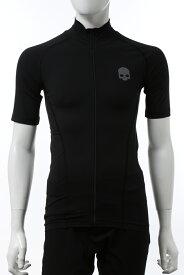 ハイドロゲン HYDROGEN Tシャツ ジップアップ 半袖 メンズ R00212 ブラック 送料無料 楽ギフ_包装 2020年秋冬新作 10%OFFクーポンプレゼント 2020AW_SALE