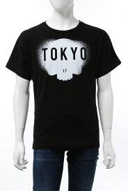 ハイドロゲン HYDROGEN Tシャツ 半袖 丸首 クルーネック E15 BLACK TOKYO メンズ R00244 BLACK TOKYO 送料無料 楽ギフ_包装 2020年秋冬新作 10%OFFクーポンプレゼント 2020AW_SALE