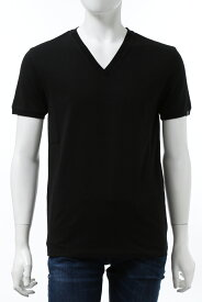 ハイドロゲン HYDROGEN Tシャツ 半袖 Vネック メンズ 270102 ブラック 送料無料 楽ギフ_包装 2020年秋冬新作 10%OFFクーポンプレゼント 2020AW_SALE