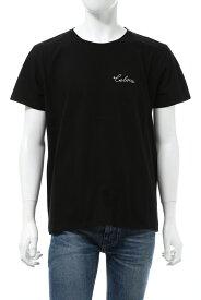 セリーヌ CELINE Tシャツ 半袖 丸首 クルーネック メンズ 2X486114L ブラック 送料無料 楽ギフ_包装 10%OFFクーポンプレゼント 2020年秋冬新作