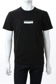 【スーパーSALE 全品10%OFFクーポン配布中】ストーンアイランド STONE ISLAND Tシャツ 半袖 丸首 クルーネック メンズ 74152NS55 ブラック 送料無料 楽ギフ_包装 10%OFFクーポンプレゼント 2021年春夏新作