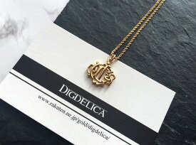 【ChristianDior】クリスチャンディオール・ヴィンテージネックレスv1160【DIGDELICA】ディデリカ・UESD中古品 ゴールド