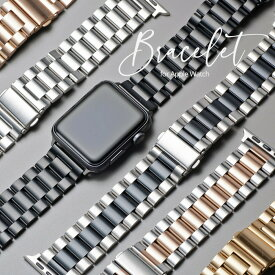 Apple Watch SE 6 アップルウォッチ バンド ステンレス 38mm 40mm 42mm 44mm ベルト メタル