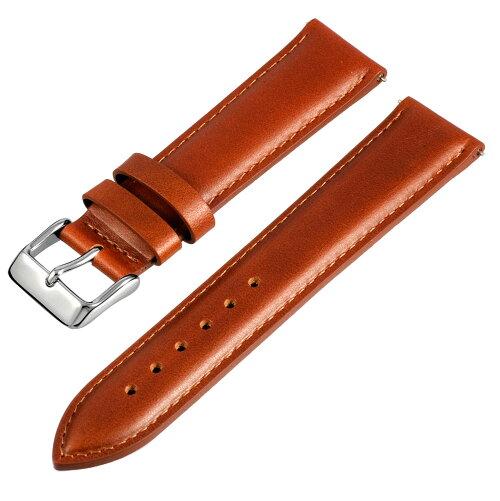 ダニエルウェリントンにも使える!本革メキシコ製レザー本革時計用ベルトバンドストラップ18mm/20mm腕時計のベルト付け替えに最適!≪ブラウン≫【メール便発送】腕時計ベルト腕時計ベルト腕時計ベルト腕時計ベルト腕時計ベルト腕時計ベルト腕時計ベルト
