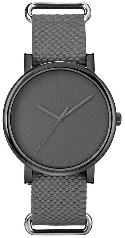 [箱なし]TIMEX タイメックス クラシック ラウンド カラー グレー 腕時計 T2P373 [並行輸入品][ネコポス][代金引換不可]