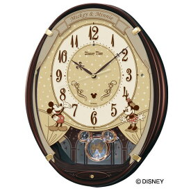 b9c372917b SEIKO セイコー 掛け時計 ディズニー 壁掛け 電波 FW579B ミッキー ミニー ミッキー&フレンズ メロディ スイープ 【お