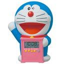 SEIKO セイコー 目覚まし時計 ドラえもん キャラクター型 おしゃべりアラーム デジタ...