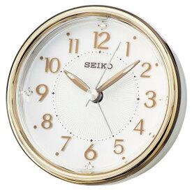 SEIKO セイコー 目覚まし時計 スタンダード アナログ ELバックライト 銅色 KR897B 【お取り寄せ】