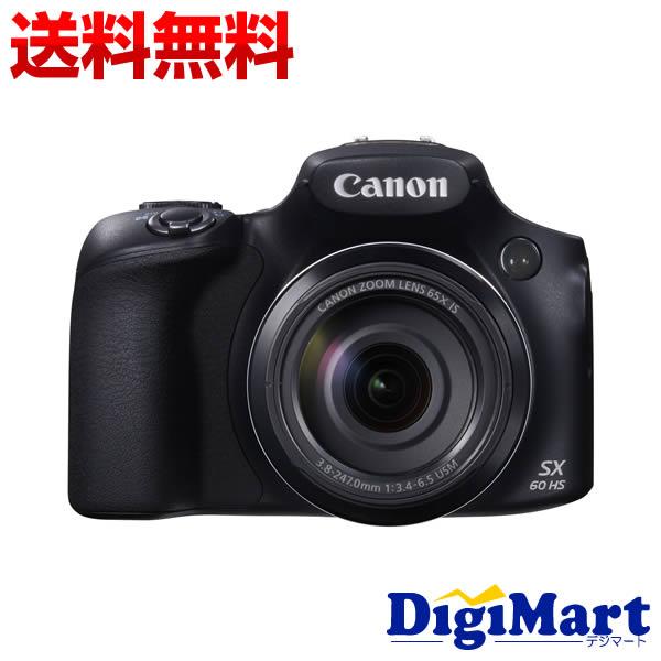 【送料無料】キャノン Canon PowerShot SX60 HS [ブラック] デジタルカメラ【新品・並行輸入品・保証付き】(sx60hs)