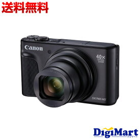 【送料無料】キヤノン Canon PowerShot SX740 HS [ブラック] デジタルカメラ【新品・並行輸入品・保証付き】