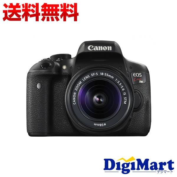 【楽天カード決済でポイント9倍】 [19日 10:00から]【送料無料】キャノン Canon EOS Kiss X8i EF-S18-55 IS STM レンズキット デジタル一眼レフカメラ 【新品・国内正規品】