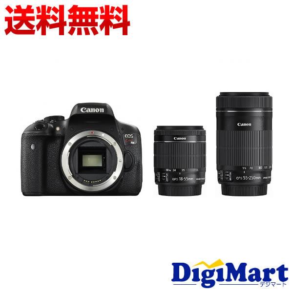 【送料無料】キャノン Canon EOS Kiss X8i ダブルズームキット デジタル一眼レフカメラ 【新品・国内正規品】