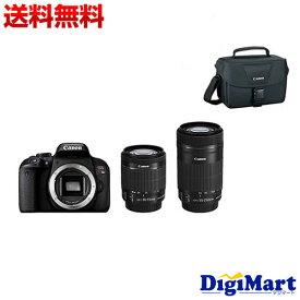 【送料無料】キヤノン CANON EOS Kiss X9i ダブルズームキット & カメラバッグ & 16GB SDカードのセット デジタル一眼レフカメラ【新品・国内正規品】