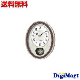 【送料無料】セイコー クロック 掛け時計 電波 アナログ トリプルセレクション メロディ パール AM259B SEIKO