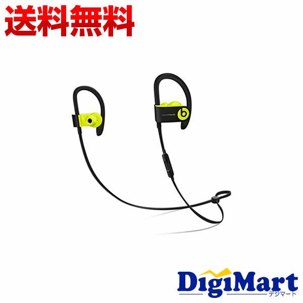 4月2日以降の発送【送料無料】beats by dr.dre Powerbeats3 Bluetooth ワイヤレスイヤホン MNN02PA/A [ショックイエロー]【新品・国内正規品】