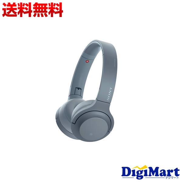 【送料無料】ソニー SONY h.ear on 2 Mini Wireless WH-H800 (L) [ムーンライトブルー] Bluetoothヘッドホン【新品・並行輸入品】