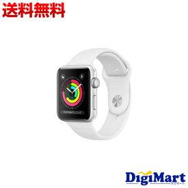 【送料無料】アップル Apple Watch Series 3 GPSモデル 42mm MTF22LL/A MTF22CL/A [ホワイトスポーツバンド]【新品・並行輸入品】