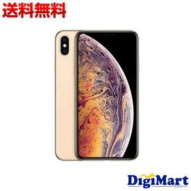 【楽天カード決済でポイント12倍】[8月25日限定]【送料無料】アップル APPLE iPhone XS Max 64GB SIMフリー [ゴールド] MT6T2J/A 国内正規品【新品】