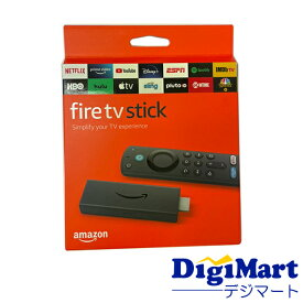 【送料無料】アマゾン Amazon Fire TV Stickファイヤー TV スティック Alexa対応 第3世代 2021年発売モデル【新品・並行輸入品・日本語説明書付き・メール便】