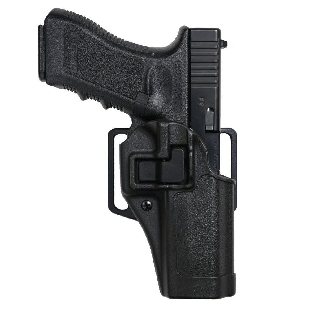 ブラックホーク CQCホルスター SERPA マルイ グロック17、18C適合 [ 右利き ] BHI Glock2021S&WM&P.45 410513BK-R   Serpa シェルパ Blackhawk スミス&ウエッソン スミス&ウェッソン