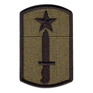 ミリタリーパッチ US ARMY 205TH インファントリー ブリゲイド OD INFANTRY BRIGADE 第205歩兵旅団 | ミリタリーワッペン アップリケ 記章 徽章 襟章 肩章 胸章 階級章
