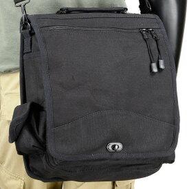 Rothco フィールドバッグ エンジニア M-51 キャンバス [ ブラック ] 8112 ショルダーバック メッセンジャーバッグ かばん カジュアルバッグ カバン 鞄 ミリタリー 帆布 斜めがけバッグ 肩掛けバッグ