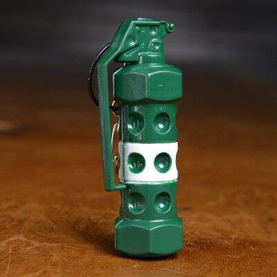 M84スタングレネード型キーホルダーキーリングホルダーキーチェーンフラッシュバン閃光発音筒M-84XM84レプリカミリタリーアメリカ雑貨