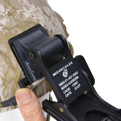 ナイトビジョンマウントNOROTOSタイプNVGマウントレプリカヘルメットマウントノロトスタイプヘルメットパーツ装備品アクセサリーサバゲーミリタリー