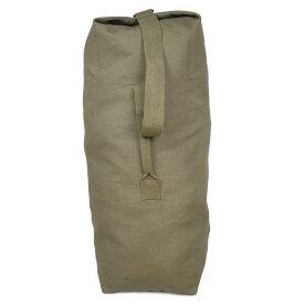 Rothco ダッフルバッグ 帆布 [ オリーブドラブ / Sサイズ ] ロスコ ミリタリー バックパック かばん カジュアルバッグ カバン 鞄 大容量 巾着