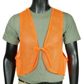 ALLEN 狩猟ベスト メッシュタイプ 狩猟オレンジ Allen ハンターベスト セーフティ 安全 蛍光