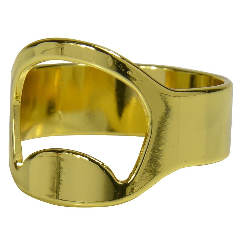 指輪型 ボトルオープナー 25号 [ ゴールド ] 栓抜き リング ステンレス