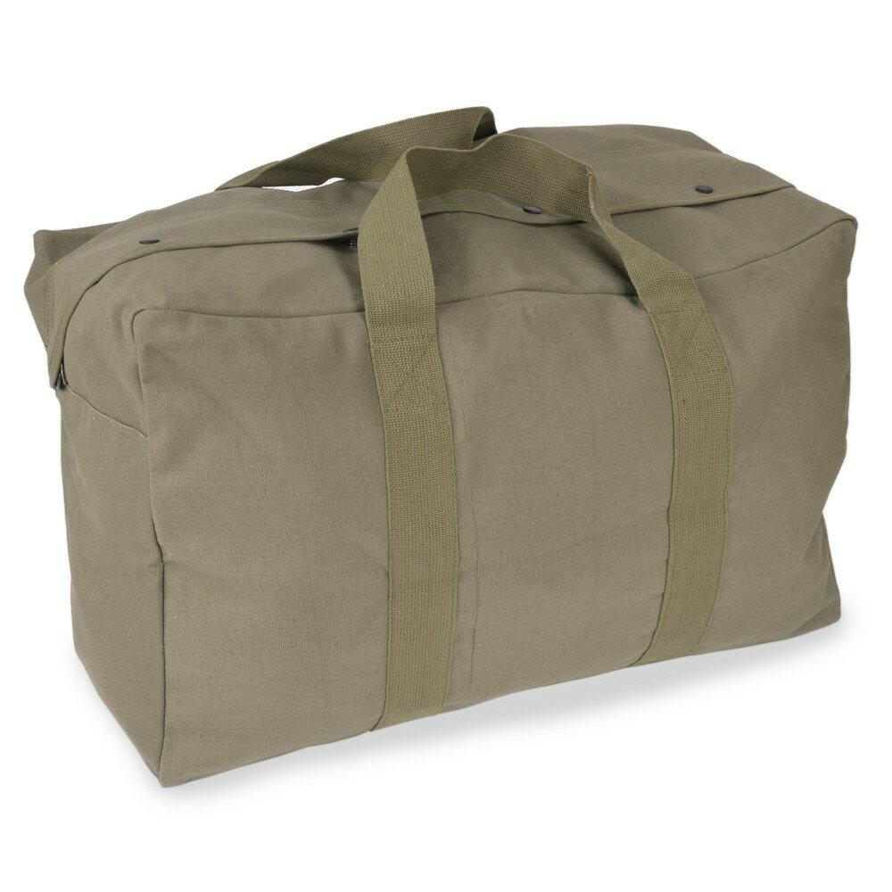 Rothco パラシュート カーゴバッグ 帆布 [ オリーブドラブ ] 3123 ロスコ ボストンバック 旅行カバン 旅行かばん 手提げカバン ミリタリーバッグ 手さげバッグ 手提げバッグ
