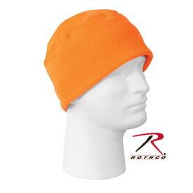 ROTHCO ワッチキャップ セーフティーオレンジ 8661 Rothco ニットキャップ ウォッチキャップ フリースキャップ スキー帽 ニット帽 ワッチ・キャップ ビーニー メンズ