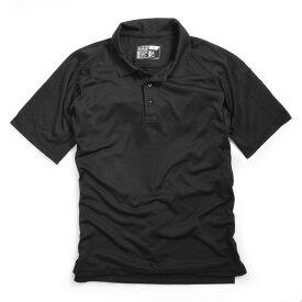 5.11タクティカル 半袖ポロシャツ 71049 [ ブラック / Lサイズ ] 5.11tactical メンズTシャツ Performance Short Sleeve Polo 半そで プリント デザイン スポーツ ミリタリーTシャツ ミリタリーシャツ 511