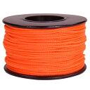 ATWOOD ROPE マイクロコード 1.18mm ネオンオレンジ アトウッドロープ 125フィート MICRO 紐 災害 緊急 アウトドア 蛍…