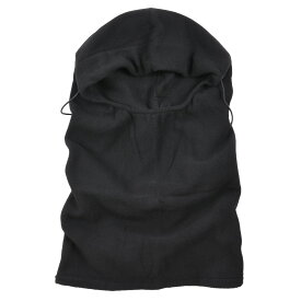 Rothco フェイスマスク バラクラバス フリース [ ブラック ]
